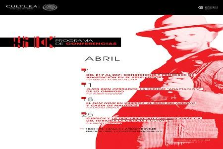 Ciclo de Conferencias: Stanley Kubrick