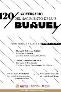 120 aniversario del nacimiento de Luis Buñuel