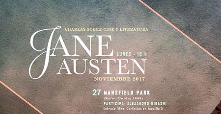 Charla Cine y Literatura: Jane Austen