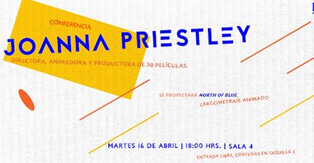 Conferencia Joanna Priestley